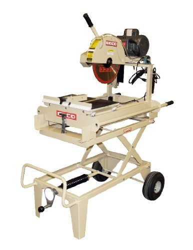 EDCO 22300 14-Inch Electric Masonry Saw 1.5 Horsepower