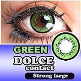 ドルチェ ストロングラージ 度なし 1箱2枚入 14.5mm (GREEN【グリーン】) ランキングお取り寄せ