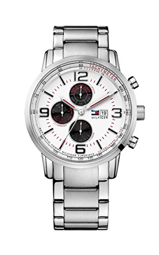 Tommy-Hilfiger-Gabe-Mens-Quartz-Watch-with-White-Dial-Analogue-Display-and-Silver-Stainless-Steel-Bracelet-1710338