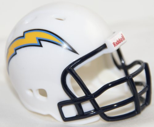 SAN DIEGO CHARGERS NFL Riddell Revolution POCKET PRO Mini Football Helmet
