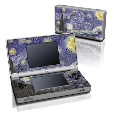 Van Gogh - Starry Night Design Decorative Protector Skin Decal Sticker for Nintendo DS Lite