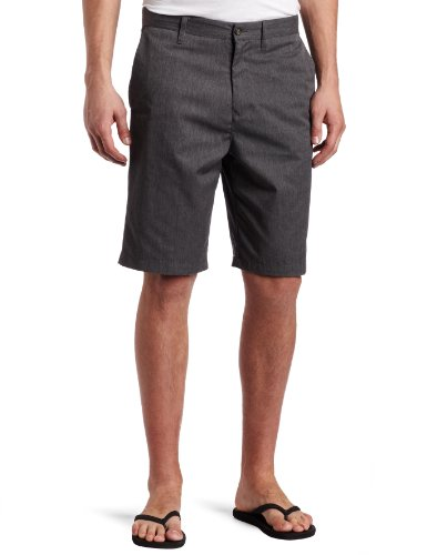 Volcom Men's Frickin Too Chino Short, Charcoal Heather, 33