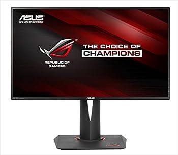 ASUS Gaming モニター 27型 ワイドディスプレイ ROG SWIFT ( フリッカーフリー / 応答速度4ms / 3840×2160 / G-SYNC / スリムベゼル / Displayport × 1, HDMI × 1 / 3年保証 ) PG27AQ
