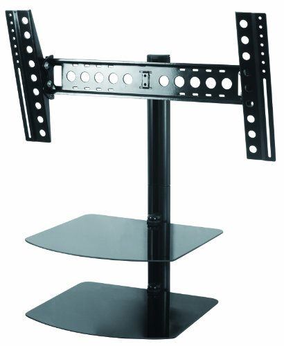 Swivel TV Wall Mount with Shelf