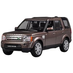 Fahrzeuge Spielzeug Fertigmodell Modellauto 1:24 Land Rover Discoverer Braun Diecast Modell Autos