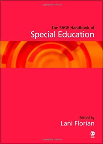 Book cover: the sage handbook of special education