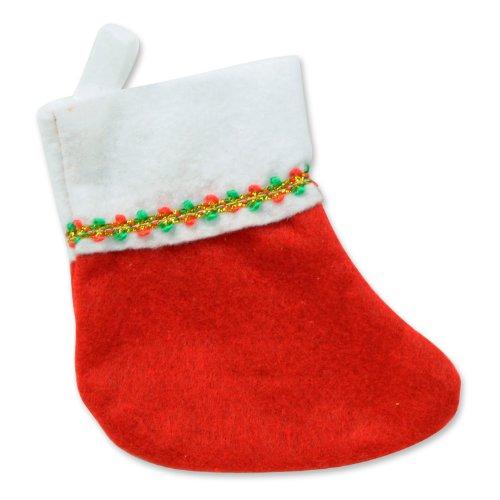 Mini Christmas Stockings  (6/Pkg)