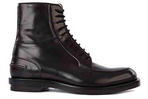 Gucci stivaletti stivali uomo pelle betis nero EU 44 325856 BLM00 1000