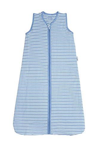Slumbersac Sacco Nanna Neonato Modello Estivo Circa 1 Tog - Strisce Blu Simply, 12-36 Mesi/110cm