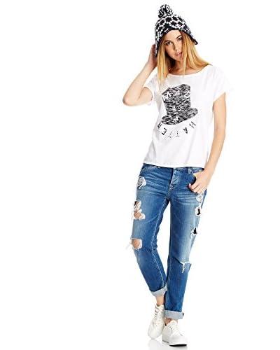 Pepe Jeans London T-Shirt Manica Corta Maddie [Bianco]