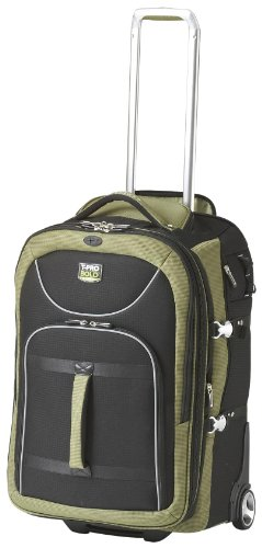 Travelpro Luggage T-Pro Bold 25 Inch Expandable Rollaboard Bag, Black/Green, One Size B004AWZH20