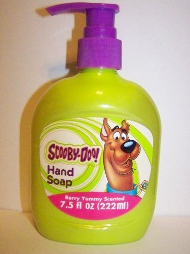 Scooby-Doo Hand Soap for Kids, Berry Yummy Scented, 7.5 fl oz - 1