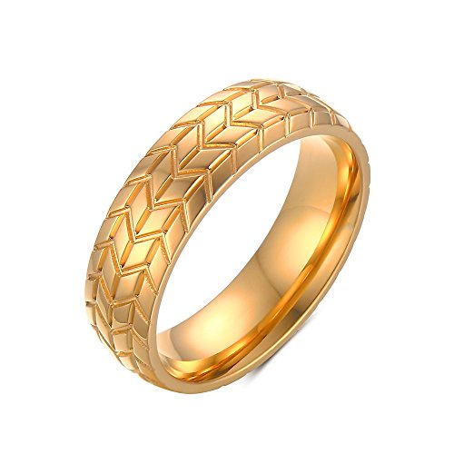 vnox-mens-stainless-steel-18k-gold-plated-band-tire-tread-pattern-engagement-wedding-ring-uk-size-x-