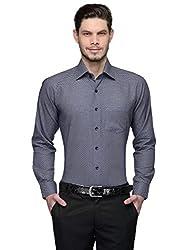 Harvest Blue 100 % Cotton Party Wear Shirt for Men