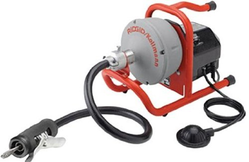 Ridgid 71722 K-40G Drain Cleaner with C-131-SB with 5/16-Inch Cable