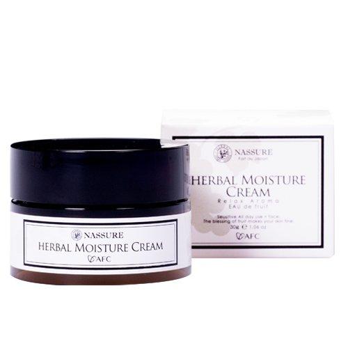 nassureナシュレー ハーバルモイスチャークリーム 保湿クリーム オーガニックコスメ 自然派化粧品 天然アロマの香り