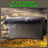 9 X 6 Tactical Survival Kit Pouch