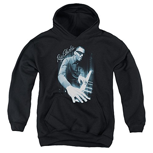 Ray Charles Blues Piano Youth Pull Over Hoodie RC101-YFTH