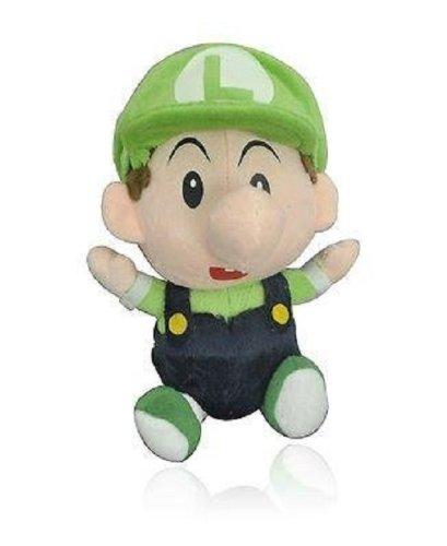 "Super Mario Brothers 7"" Anime Animal Stuffed Plush Toys Luigi front-525592"