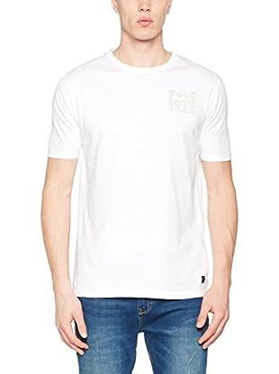 Springfield Camiseta Manga Corta (Blanco)