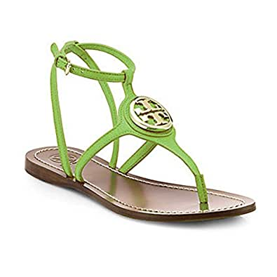 Tory burch leticia flat thong tumbled leather for Tory burch jewelry amazon