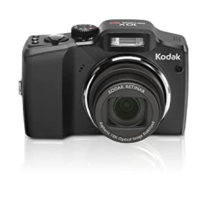 Kodak Easyshare ZD15 10MP Digital Camera with 10x Optical Image Stabilized Zoom with 2.5 inch LCD (Black)