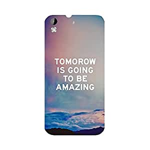 Phone Candy Designer Back Cover with direct 3D sublimation printing for HTC Desire 816