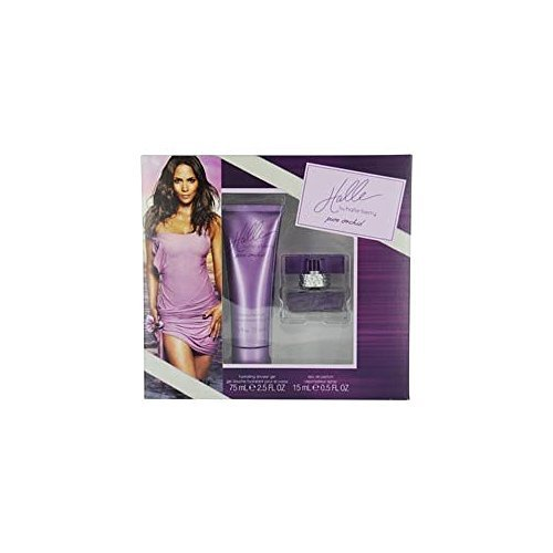 Halle Pure Orchid by Halle Berry 2 Piece Set Set Contains: .5 oz. Eau de Parfum Spray 2.5 oz. Hydrating Shower Gel (Halle Berry Pure Orchid compare prices)