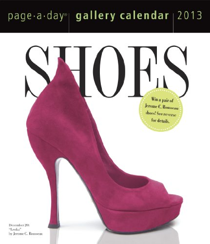 Shoes 2013 Gallery Calendar