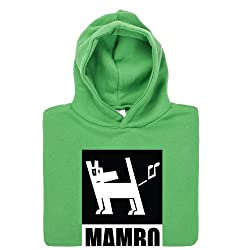 Official Mambo Dog Black and White Kid's Hoodie, Kids