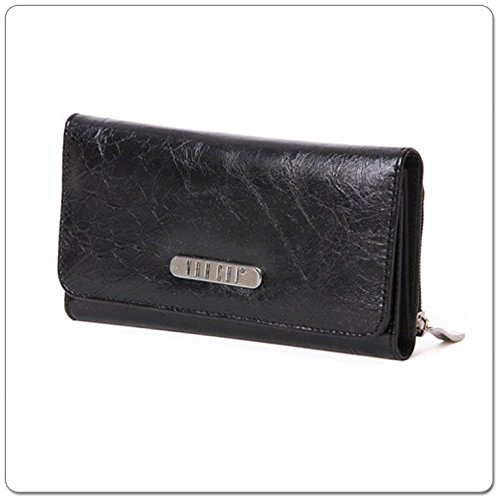 VANCHI Wallet, Blackbird, Black