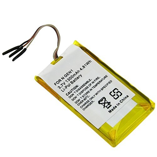 Ultralast PDA-136LI Replacement Battery for Apple iPod Nano 1G