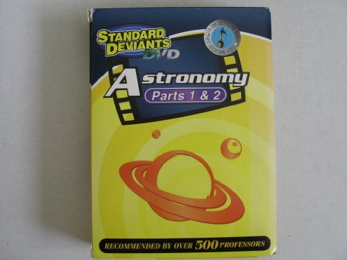 Standard Deviants DVD's - Astronomy Parts 1 & 2