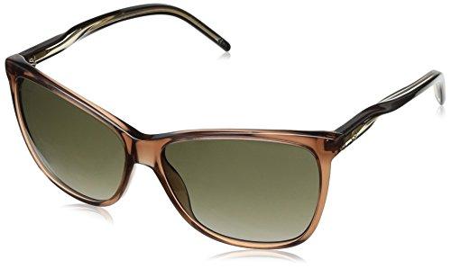Gucci Sunglasses - 3640 / Frame: Brown Black Beige Lens: Brown Gradient