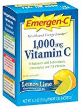 Emergen-C Lemon Lime (10 packets) by Alacer Corp.