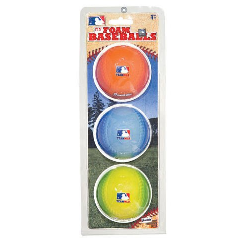MLB Soft PU Foam Baseball 3pk