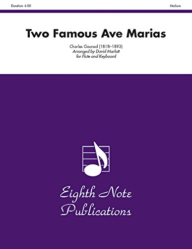 Two Famous Ave Marias: Part(s) (Eighth Note Publications)