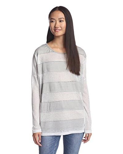 A'reve Women's Wide Stripe Top