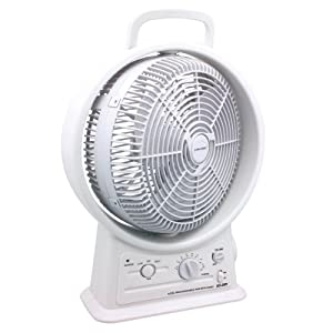 Amazon.com: Gama Sonic Rechargeable 15-Inch Cooling Fan with AM/FM