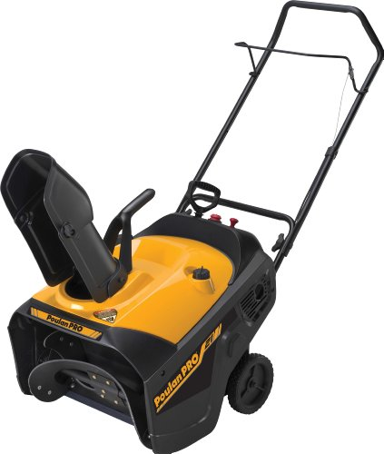 Learn More About Poulan Pro PR521 21-Inch 136cc Single Stage Electric Start Snow Thrower