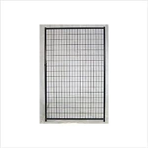 Lucky Dog Powder Coated Pet Gate Panel Size: 6' X 5'