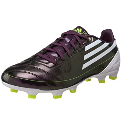 adidas Men's F10 TRX FG Soccer Cleat,Chameleon Purple/White/Electricity (UCL),11.5 M US
