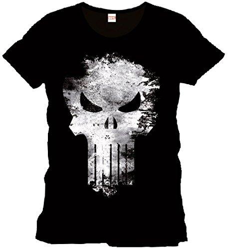 Punisher Maglietta Maglia T Shirt Distress Skull Size S CODI