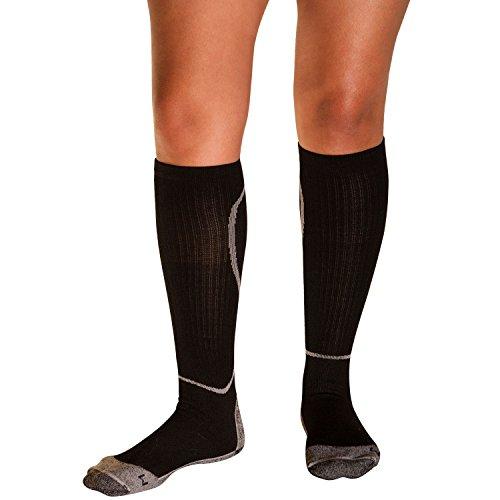 Merino-Wool-Running-Socks-Knee-High-Graduated-Compression