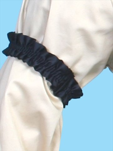Victorian Men's Shirts- Wingtip, Gambler, Bib, Collarless Scully RW190-BLK-ONE Rangewear 100 Percent Polyester Mens Kentucky Sleeve Garters - Black One Size $27.03 AT vintagedancer.com