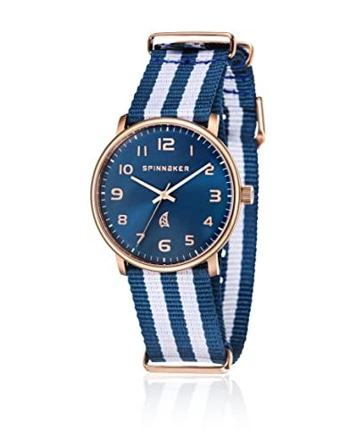 Spinnaker Reloj de cuarzo Nantucket Azul / Blanco 40  mm