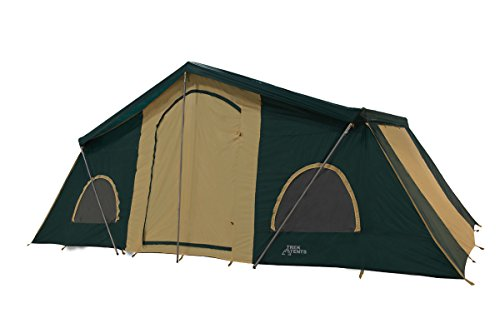Best family camping tents review trek tents 249 3 room for What is a tent cabin