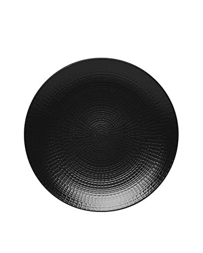 Guy DeGrenne 8.25 Modulo Nature Dessert Plate, Black