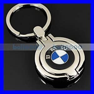 Bmw Keychain With Engraved Logo Front And Back from AA