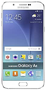Refurbished Samsung Galaxy A8 4G Pearl White